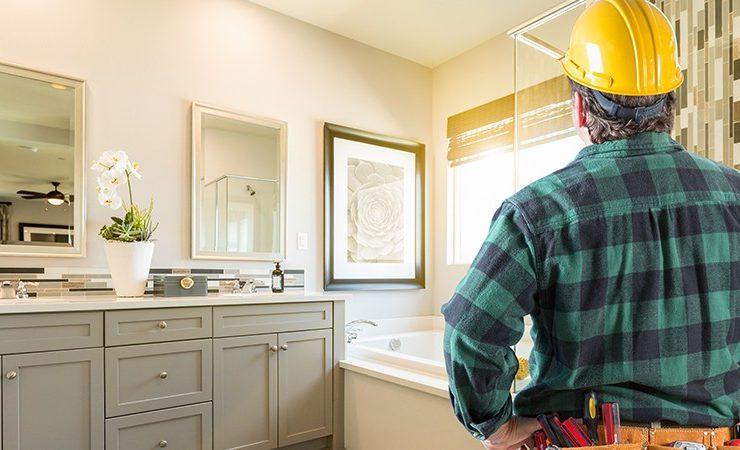 Bathroom remodeling banner